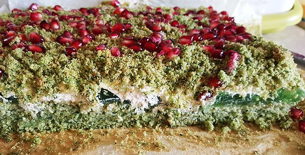 Ciasto ze szpinakiem zwane mchem
